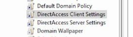 Direct Access Group Policies
